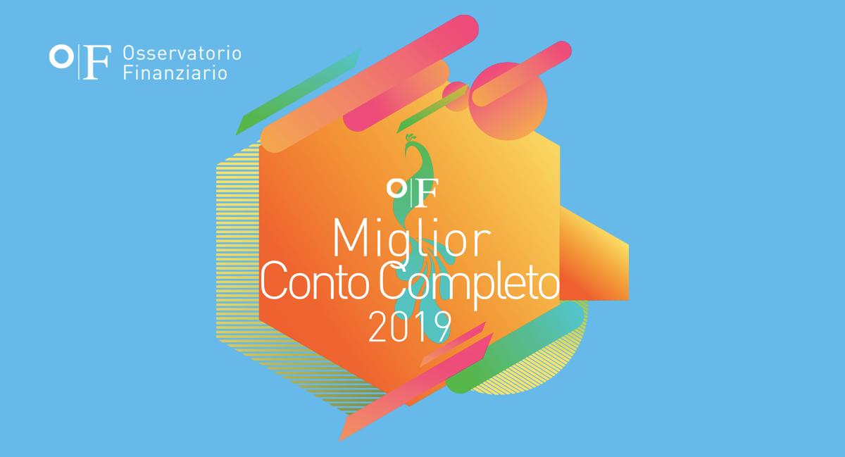 OF Miglior Conto Completo 2019 OF OSSERVATORIO FINANZIARIO